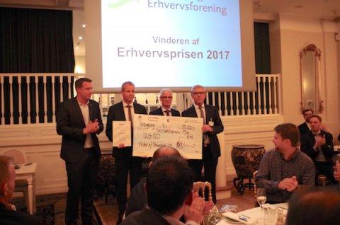 Erhvervsprisen 2017 gik til DLG Øst!