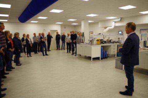 16-19 møde hos Erhvervspark E47 med virksomhedsbesøg hos Insatech A/S